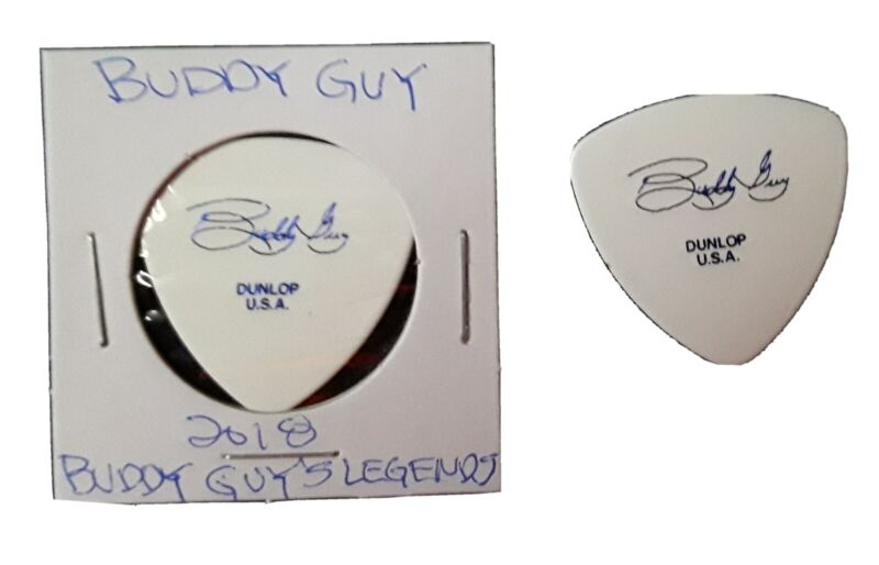 """Buddy Guy """"THE BLUES IS ALIVE AND WELL"""" GUITAR PICK  Buddy Guys Legends Chicago"""