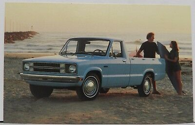 COURIER PICKUP TRUCK PROMO BETTER IDEA 1980 80 FORD DEALER DEALERSHIP