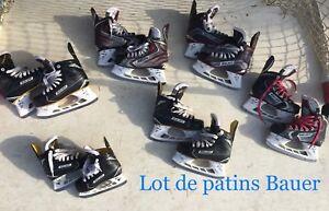 Lot de patins Bauer