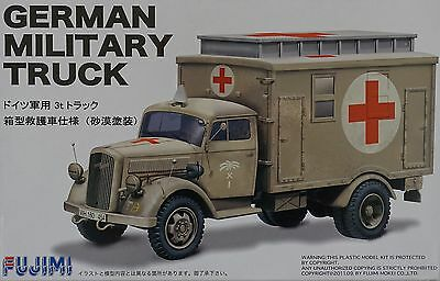 FUJIMI 72231 WWII German Military Rescue Box Truck in 1:72