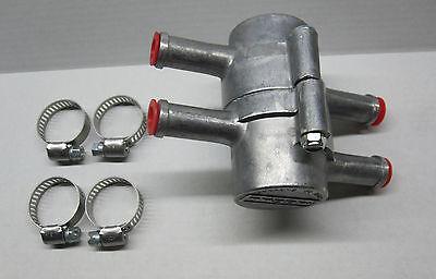 Mocal Ölkühler Thermostat mit Stutzen 1/2 Zoll (12,7mm)