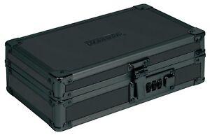 Cash Security Box Lock Case Combination Jewelry Money Gun Portable Black Safe