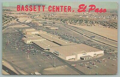El Paso Texas~Bassett Center~Shopping Center Mall~Aerial (El Paso Mall)