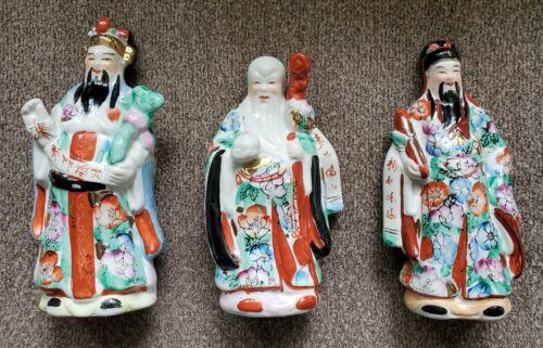 Vintage Fu Lu Shou Set
