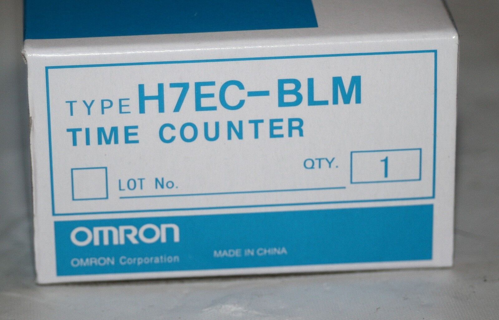 Omron H7EC-BLM Time Counter 2466