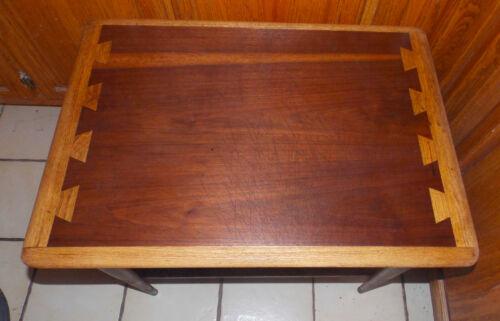 Walnut Ash Mid Century Lane End Table / Side Table