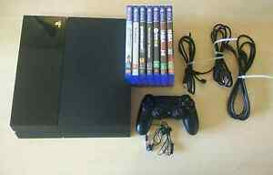 PlayStation 4 500gb, 7 games Hornsby Hornsby Area Preview