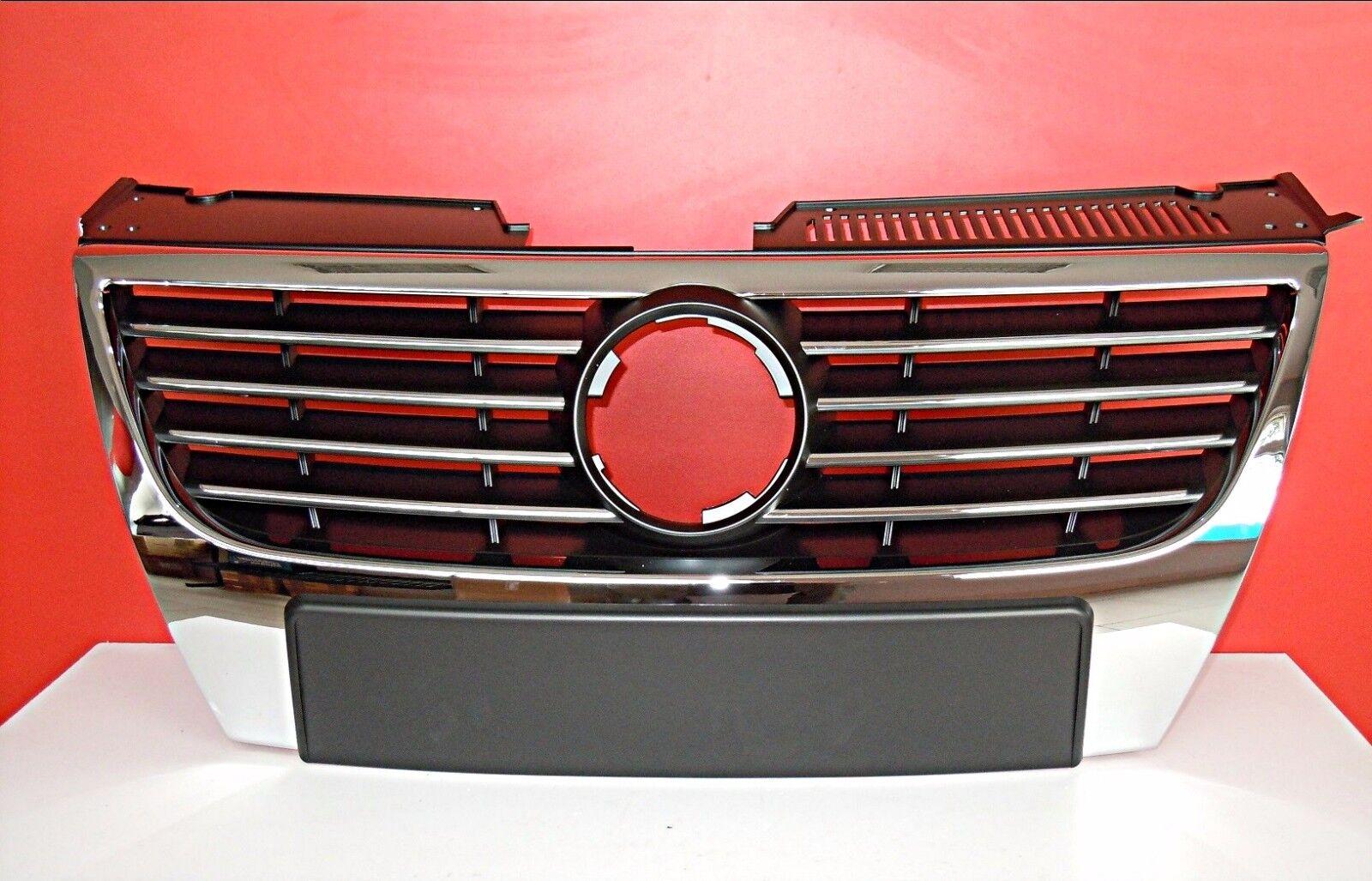 Kühlergitter Kühlergrill Grill vorne front VW PASSAT B6 2005 - chrom