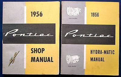 Werkstatthandbuch 1956 Pontiac Shop Manual Set  (USA)