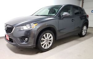 2015 Mazda CX-5 GT|Htd Leather|Unlimited Warranty- Just arrived