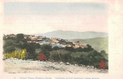 Manipur,Assam,India,Ukhurl Village,c.1909