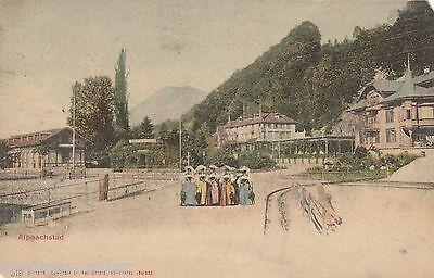 Alpnachstad Alpnach AK 1900 Damen Obwalden Schweiz Suisse Svizzera 1610544