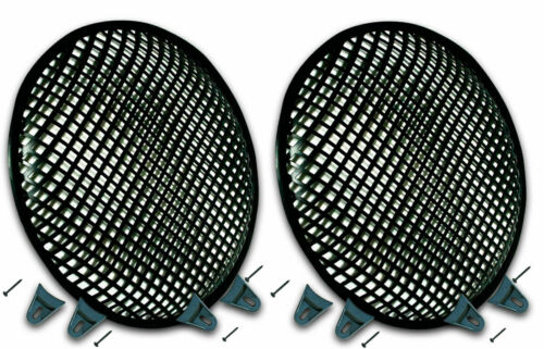 "2 15"" SubWoofer Metal Mesh Cover Waffle Speaker Grill Protect Guard DJ Car Audio"