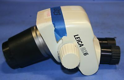1 Used Leica Gz6 Stereo Zoom Microscope No Eyepieces