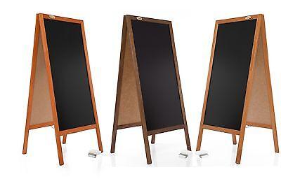 Kundenstopper 130cm Holz Tafel Aufsteller Werbetafel Holztafel