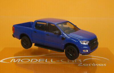 Busch 52803 Ford Ranger Pick-up blau 1:87