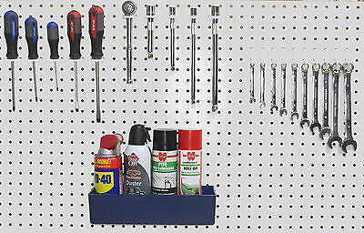 Plastic 30 Pc Peg Board Hook Kit Plastic Bin Pegboard Not Included