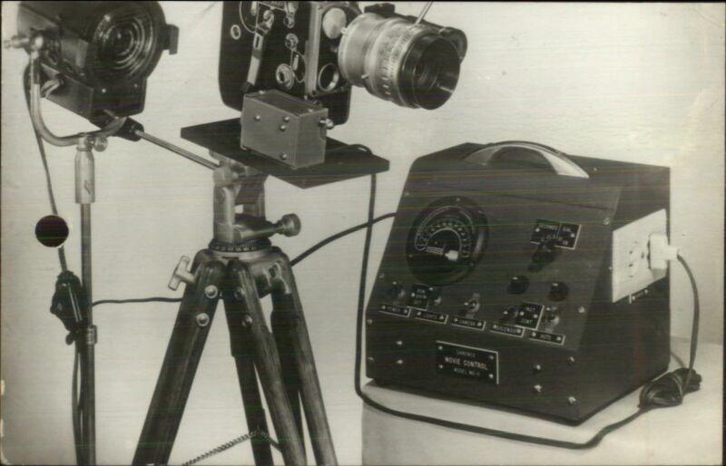 Camera Equipment Sample Engineering Co Danville IL Adv Real Photo Postcard