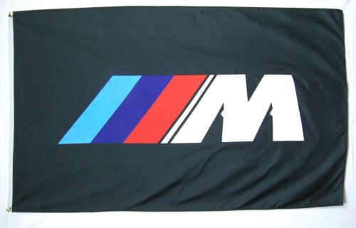 BMW M Racing Premium Flag 3' x 5' Indoor Outdoor Automotive Banner (USA Seller)