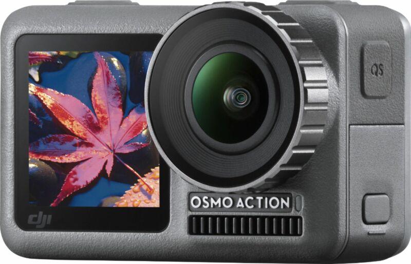 DJI - Osmo Action Camera - Gray