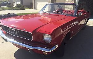 ***1966 Mustang Convertible Been In FAMILY SINCE NEW