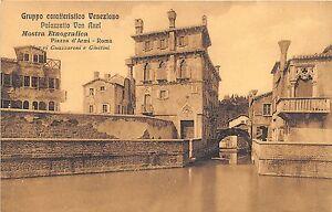 Cartolina-Postcard-Roma-Gruppo-Veneziano-Mostra-Etnografica-Von-Axel