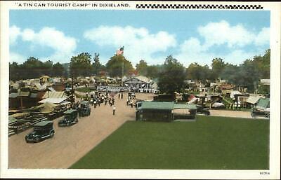 Gainesville FL Area Tin Can Tourist Camp c1920 Postcard for sale  South Portland
