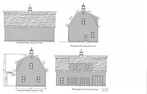 30 x 50 garage plans gambrel roof 4 car garge plan 21111