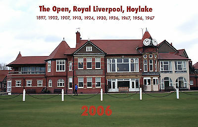 THE OPEN - ROYAL LIVERPOOL, HOYLAKE 2006