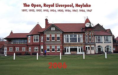 THE OPEN - ROYAL LIVERPOOL, HOYLAKE 2006