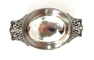 Omar Ramsden Sterling Silver Quaich Bowl Arts & Crafts Hand Hammered London 1927 for sale  Shipping to Canada