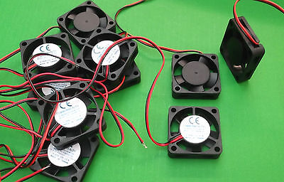 Fan 12 Vdc Fans Cooling 40 x 40 x 10mm FP108HX/DC12VS1B 40mm Ball Bearing x1pc
