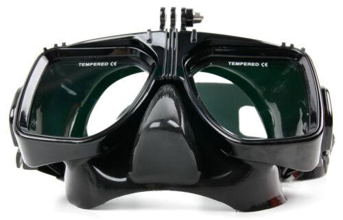 Zum Schnorcheln + Tauchen: Taucherbrille mit Aufsatz für APEMAN A80 Sport-Kamera