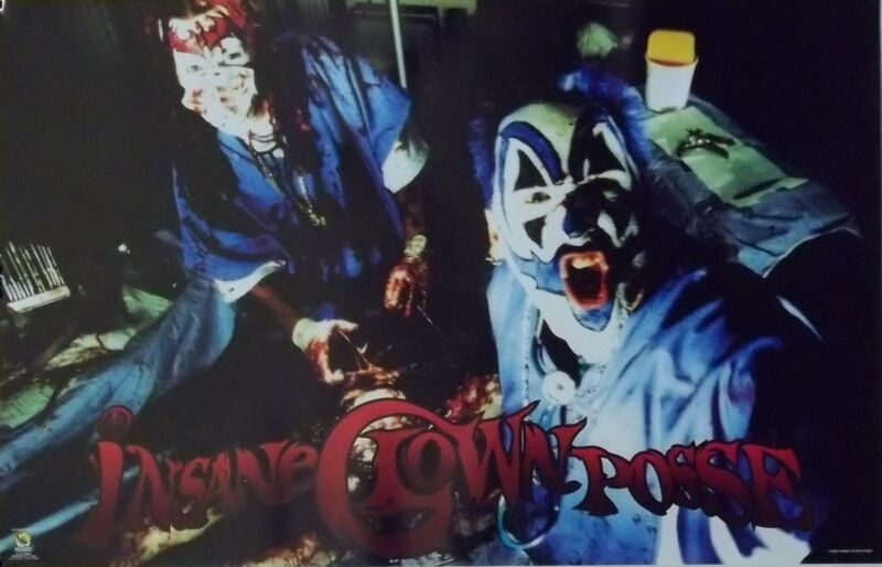 Insane Clown Posse 23x35 Meat Poster 1999 ICP