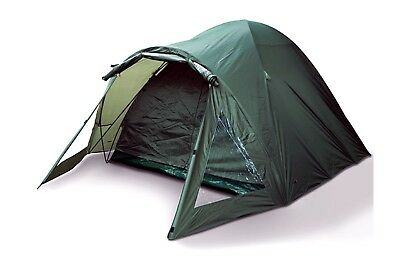 NGT 2 Man Green Carp Fishing Bivvy Tent Shelter Waterproof with Double Skin