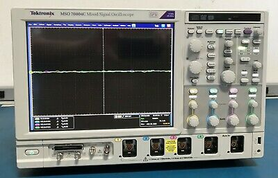 Tektronix Mso70804c 8ghz 25gss Mixed Signal Oscilloscope Oem Calibrated Loaded