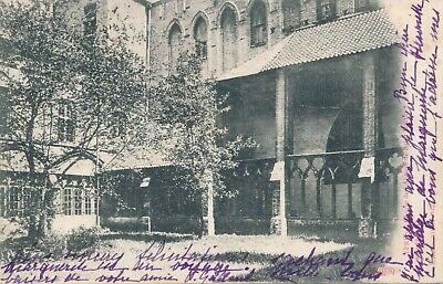 CPA - Belgique - Ieper - Ypres - Cloître de l'Abbaye de Saint-Martin