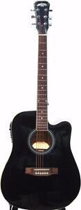 stand de guitare gratuit, eTuner, 5 pics iMusic219 Acoustic Guitar Marque nouvelles