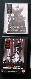 Gorillaz phase one and 2 special edition dvds