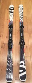 Salomon Ski 178cm 24 Hours Max Model 2015 in excellent condition and ski poles 135cm black/silver!!!