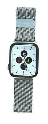 Apple Watch Series 4 44 mm Stainless Steel Case with Milanese Loop (GPS +...