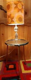 Vintage 1960s / 70s table lamp