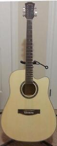 Free Capo and Strap with Acoustic Guitar for beginners 41 inch iMG741