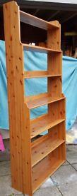 solid pine IKEA LEKSVIK shelving unit H225cm x W100cm. strong quality, excellent condition.