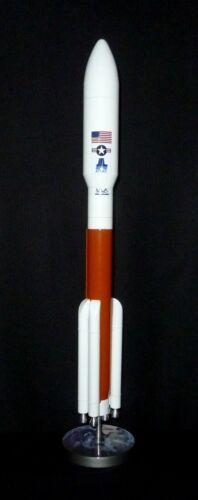 NASA ULA Atlas V Rocket Desk Top Display 1/144 MADE OF METAL AND PAINTED