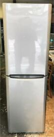 Indesit fridge freezer height is 185 cm and width is 60 cm
