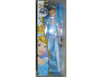 Disney Princess Sparkle Cinderella Doll by Mattel (Barbie). Brand new in box. Christmas..