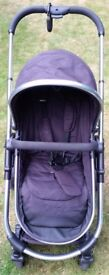 iCandy Strawberry Pushchair 2 in 1 Travel System Chrome Chassis, Stroller & Carrycot (Pram)