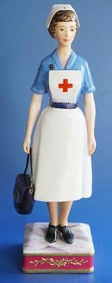 Royal Worcester Figurine Red Cross Society Sister VAD Nurse Limited Edition