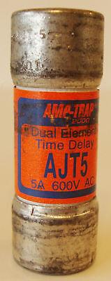 Gould Shawmut Ajt5 Amp-trap Time Delay Fuse